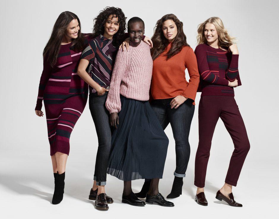 Lindex integrates plus sizes into its Autumn/Winter 2016 fashion concepts
