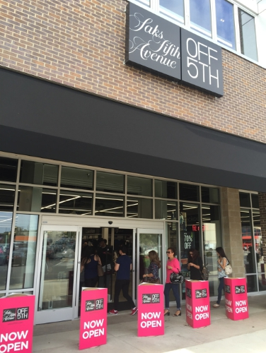 PREIT announces the grand opening of Saks Fifth Avenue OFF 5TH at Springfield Town Center in Springfield, VA