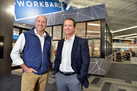 Staples opens three initial Workbar in the Greater Boston community