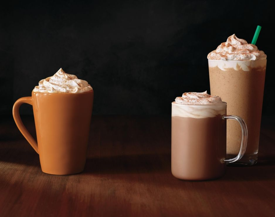 Starbucks announces return of fall favorite Pumpkin Spice Latte and launch of the new Chile Mocha