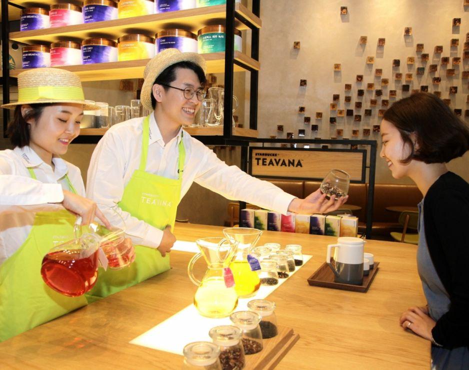Starbucks launches Starbucks® Teavana™ Handcrafted Beverages and Full Leaf Tea Sachets across Asia