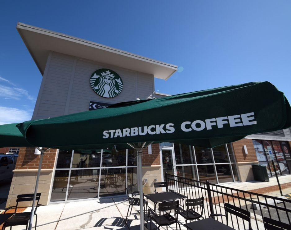 Starbucks opens its first store in Englewood in the South Side of Chicago
