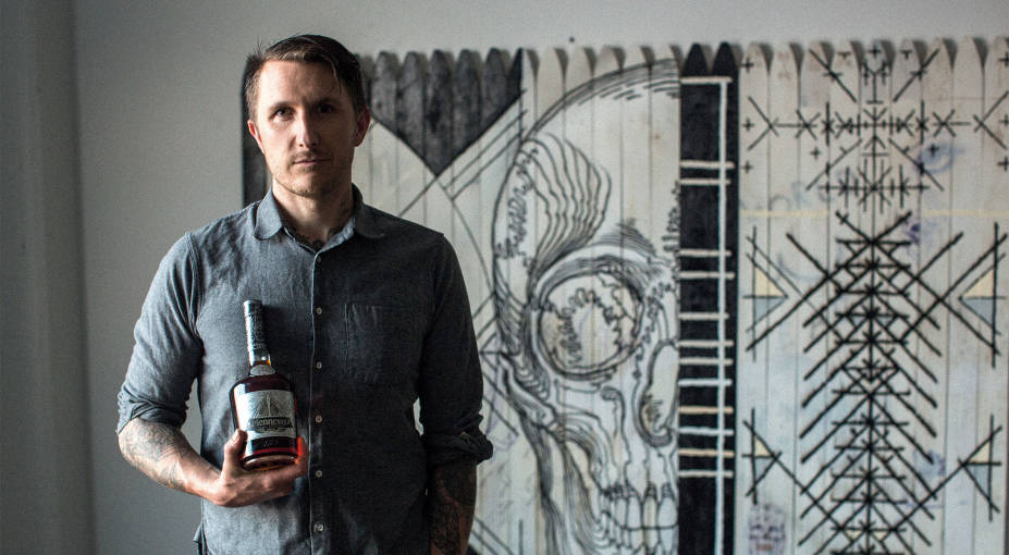 The Hennessy Very Special Edition bottle by internationally-renowned tattoo artist Scott Campbell