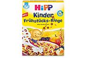 Babynahrungshersteller Hipp ruft europaweit Kinder Frühstücks-Ringe 140 g zurück