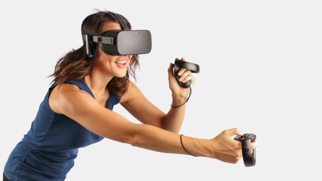 Best Buy hosts demos of Oculus Touch controllers with its Rift virtual reality headset