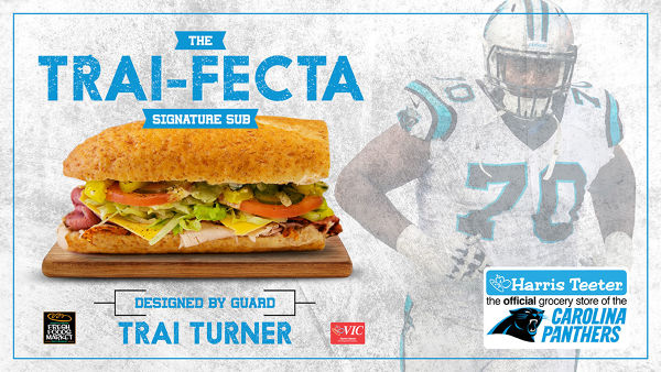 carolina-panthers-guard-trai-turner-and-harris-teeter-to-debut-his-personally-designed-signature-sub-sandwich