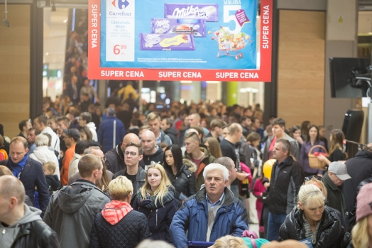 Carrefour opens its 86th hypermarket in Poland, in Poznan