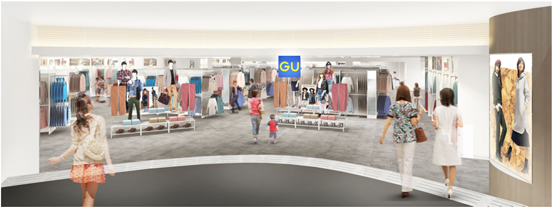 Japanese casual fashion brand GU to open two stores in Hong Kong in spring 2017