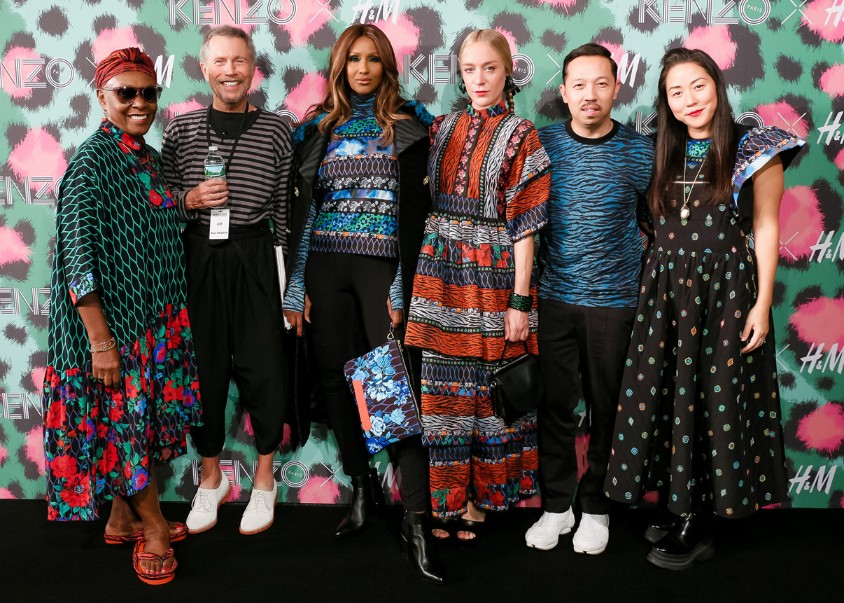 KENZO x H&M made its runway debut at Pier 36 in New York
