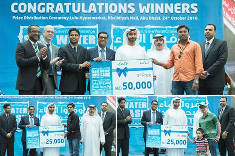 #LuLuSaveWaterChallenge announces winners