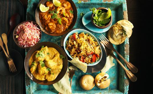 Sainsbury's celebrates National Curry Week