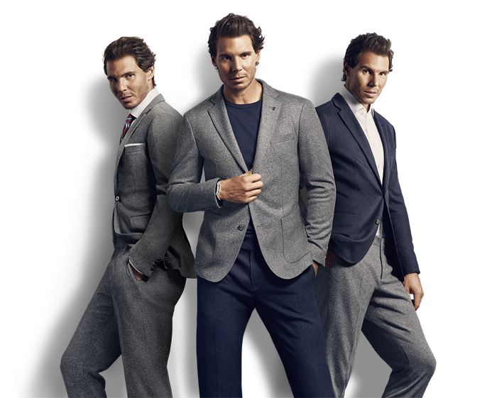 Tommy Hilfiger features internationally renowned tennis star Rafael Nadal for its Fall 2016 Tailored campaign