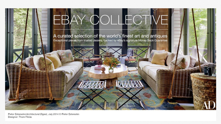eBay Collective: eBay launches new destination for curated inventory of furniture, antiques, contemporary design and fine art