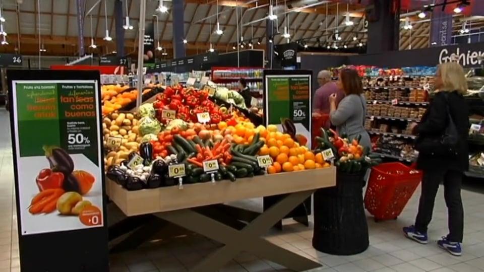 """EROSKI promueve el consumo de frutas y hortalizas """"feas"""" pero de calidad"""