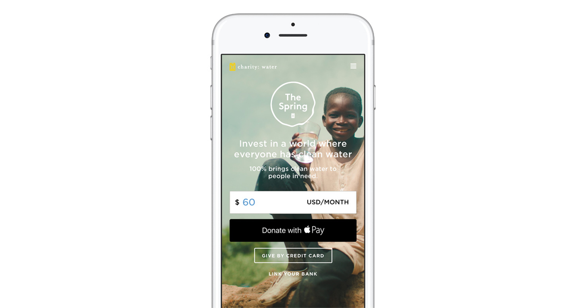 Apple Pay kicks off support for charitable donations