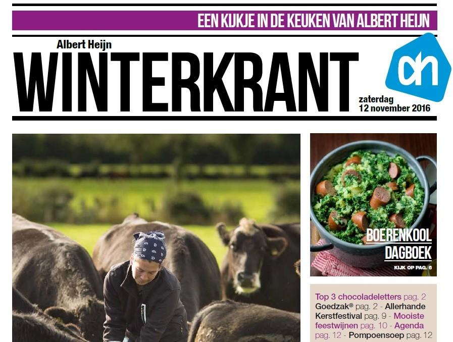 Albert Heijn is klaar voor de feestdagen