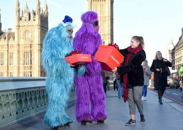 Argos launches new advertising campaign featuring speeding yetis delivering Christmas goods