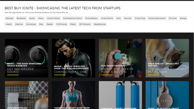 Best Buy introduces Ignite web page dedicated to the latest and greatest tech from startups