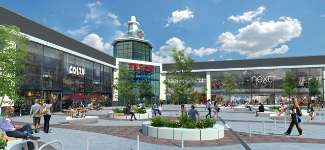 British Land announces Next and M&S Foodhall at Serpentine Green, Peterborough extension