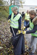 Colruyt Group stores to tackle litter on their car parks and in their neighbourhood