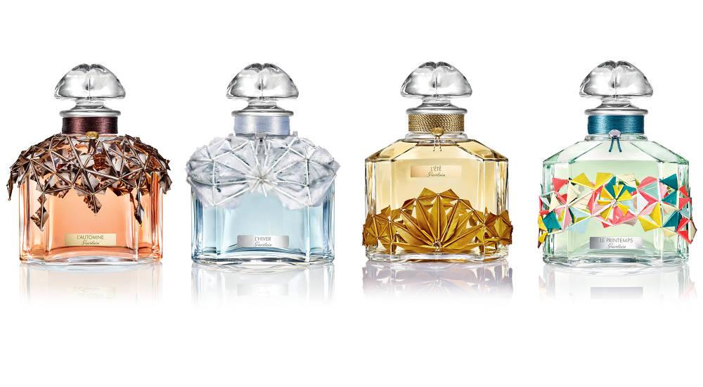 Guerlain launches collection of four eaux de parfum inspired by the four seasons