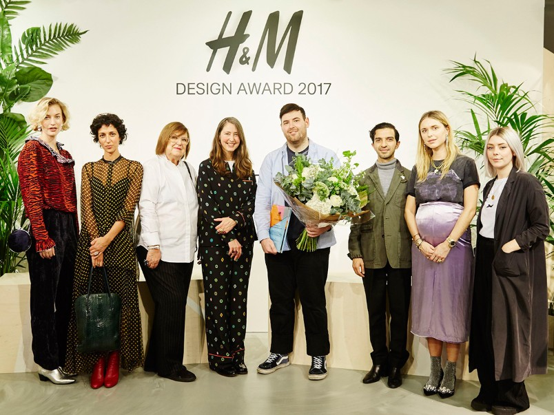 H&M announces Richard Quinn as the winner of H&M Design Award 2017