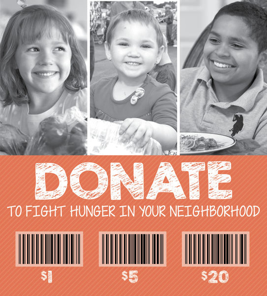 Harris Teeter continues its annual Harvest Feast Food Drive and Donation Card Campaign for local hunger-relief efforts