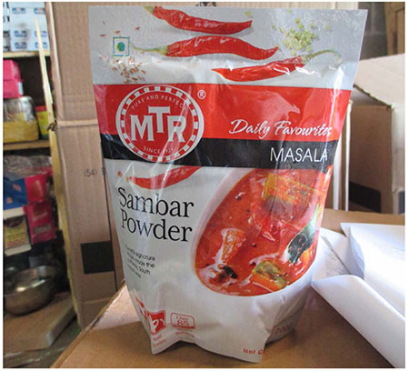 SHRI SHIVA Foods Inc. recalls MTR Sambar Powder due to possible contamination of Salmonella