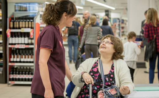 Sainsbury's invests on its colleagues on disability awareness training