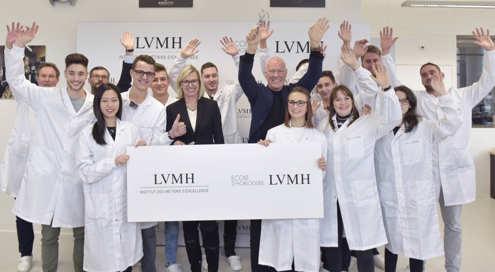 TAG Heuer and Zenith unveil new watchmaking school, LVMH Ecole d'Horlogerie