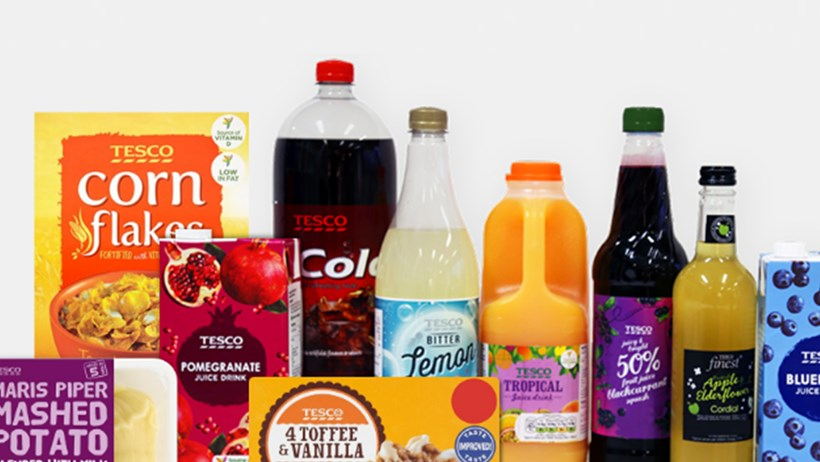 Tesco announces further reductions of sugar levels in its own brand soft drinks