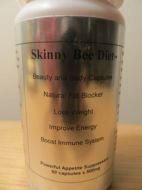 Love My Tru Body recalls all Skinny Bee Diet due to presence of sibutramine, desmethylsibutramine, and/phenolphthalein