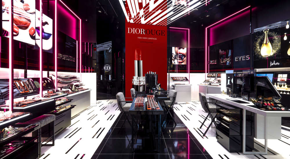 Dior opens its first exclusive makeup store located in Westfield World Trade Center, New York