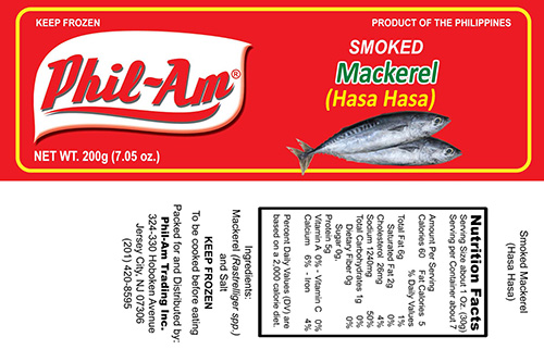 Phil-am Trading recalls Smoked Mackerel (Hasa-Hasa) that may be contaminated with Clostridium botulinum