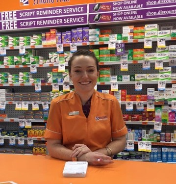 Sigma congratulates 2016 Pharmacy Pharmacy Assistant of the Year Natanya McLenaghan of Aspley Discount Drug Stores