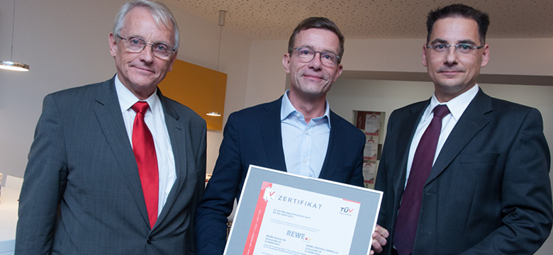 Klimaschutz: REWE Group erstmals mit zentralem Energiemanagementsystem