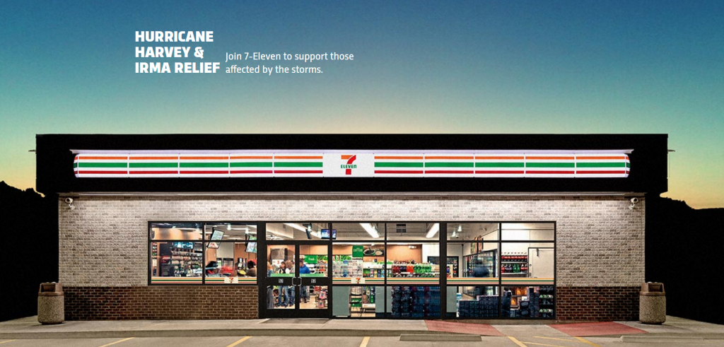 7 Eleven Commits To 150000 Donation And 4800 Cases Of Water For Hurric...